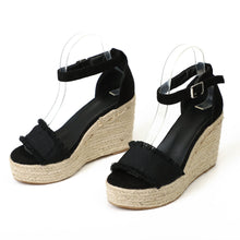 Load image into Gallery viewer, New Fashion Sexy Wedges Sandals