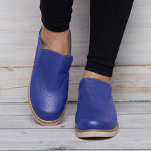 Load image into Gallery viewer, Comfy Sole Pu Loafers Women Slip On Shoes