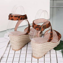 Load image into Gallery viewer, Women Espadrille Wedge Casual Sandals