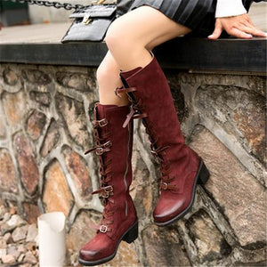 Flat Heel All Season Boots