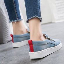 Load image into Gallery viewer, Slip On Casual Flats Canvas Loafers