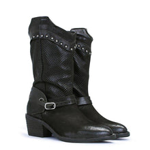 Load image into Gallery viewer, Block Heel Daily Rivet Pu Boots