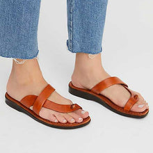 Load image into Gallery viewer, Women PU Slippers Casual Flip Flops Shoes