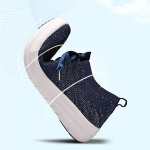 Flyknit Fabric All Season Breathable Sneakers
