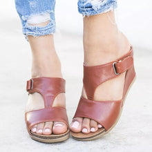 Load image into Gallery viewer, Women's Mule Fashion Wedges