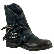 Load image into Gallery viewer, Women Casual Buckle Strap Ankle Boots