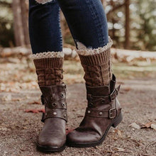 Load image into Gallery viewer, Women's Vintage Studded Comfort Boots
