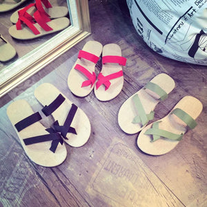 Casual Flat Heel Summer Slippers