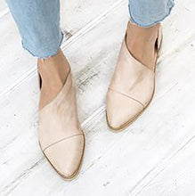 Load image into Gallery viewer, Fashion Retro Pointed Shallow Flat Sole Shoes
