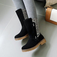Load image into Gallery viewer, Women's Simple Style Slip-on Low Heel Ankle Boots