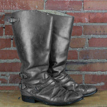 Load image into Gallery viewer, Vintage Zipper Mid-Calf Boots Chunky Heel Women's Boots