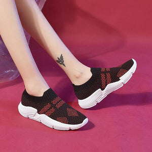 Unisex Flat Athletic Slip-On All Season Sneakers