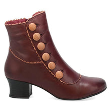 Load image into Gallery viewer, Elegant Chunky Heel Button Side Zipper Boots