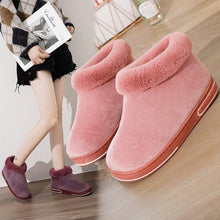 Load image into Gallery viewer, Warm Daily Housing Slip-on Ankle Boots