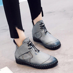 Padded Boots Winter Warm Snow Boots Flat Short Womens Boots