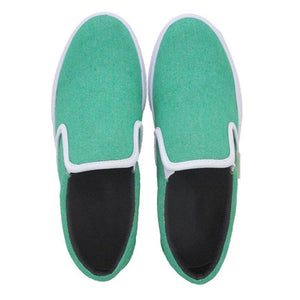 Slip-On Platform Shoes All Season Comfy Canvas Loafers