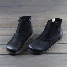Load image into Gallery viewer, Vintage Casual Side Zipper Ankle Boots