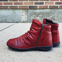 Load image into Gallery viewer, Zipper Artificial Leather Low Heel All Season Ankle Boots