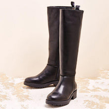 Load image into Gallery viewer, Women Winter Artificial Leather Knee-High Boots