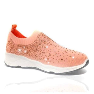 Women Shiny Sock Sneakers