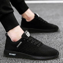 Load image into Gallery viewer, men Vulcanize shoes tenis trainers casual man shoes Sports Breathable Mesh Cloth mens Shoes fashion sneakers