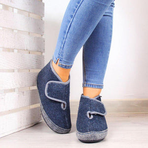 Women Casual Daily Comfy Slip On Boots
