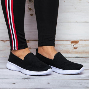 Women's Breathable Sneakers Slip On Chic Shoes