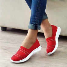 Load image into Gallery viewer, Women Slide Fabric All Season Flat Heel Sneakers