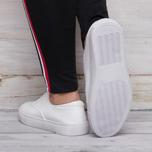 Women Lazy Loafers Casual Slip On Classic Shoes
