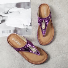 Load image into Gallery viewer, Women PU Slippers Casual Comfort Shoes