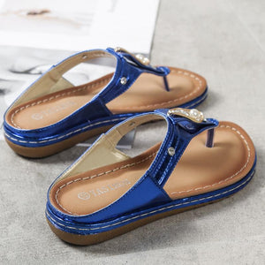 Women PU Slippers Casual Comfort Shoes