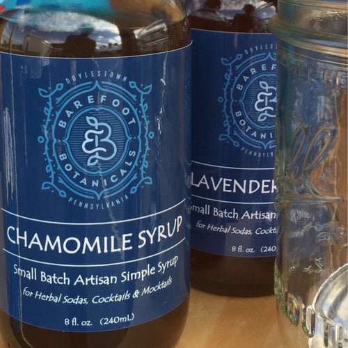 Chamomile Botanical Simple Syrup