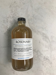 Rosemary Botanical Simple Syrup