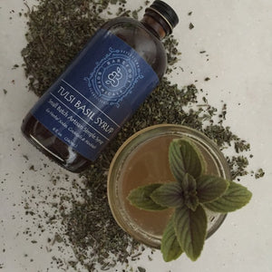 Tulsi Artisan Single Origin Cocktail Syrup