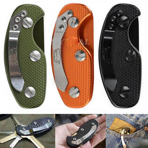 Hot Aluminium Smart Key Holder Clip Keys folder keyring housing EDC Pocket Tools Alloy Keys Organizer
