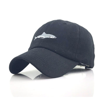 Save the Ocean Shark Hat Washed Cotton Men Baseball Cap Snapback Fitted 3 COLORS