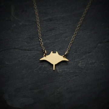 Origami Jewelry | Save the Manta Ray Necklace