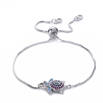 Save the Ocean Jewelry | Rainbow Turtle Bracelet
