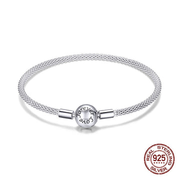 Save Sea Life Jewelry | Sterling Silver Classic Bracelet