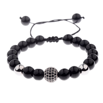 Natural Lava Stone Bead Jewelry | Ocean Charity Bracelet