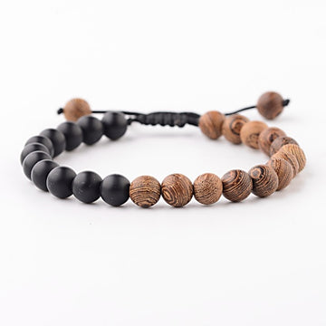 Save the Ocean Jewelry | Tribal Wood Bracelet