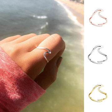 Save the Ocean Jewelry | Cool Ocean Wave Ring