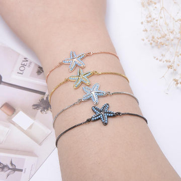 Save Sea Life Jewelry | Starfish Charm Bracelet Anklet