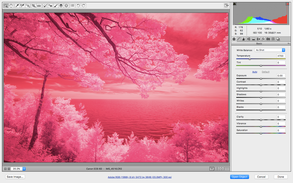 How To Process Infrared Images in Photoshop
