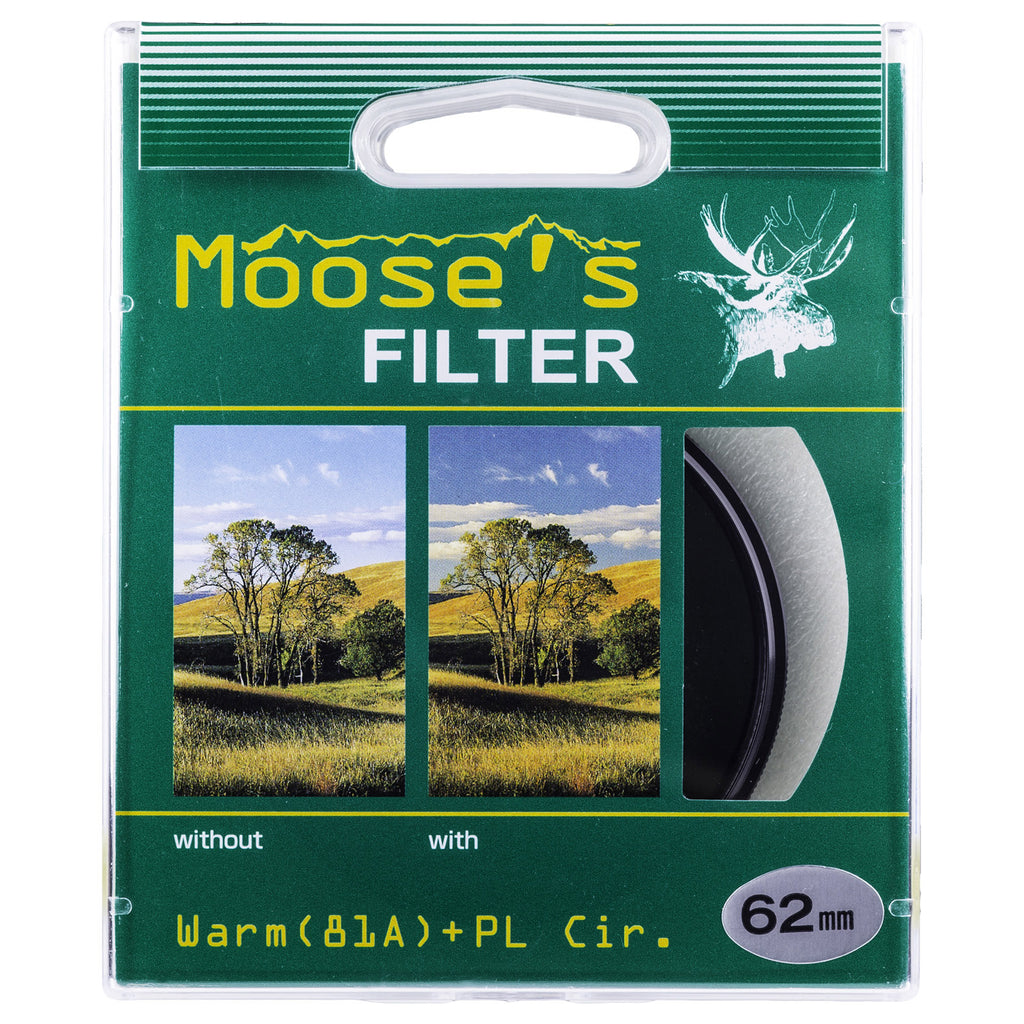 Moose 55mm Warm Circular Polarizer Glass Filter