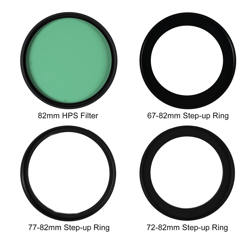 82mm Grow Light Filter Kit