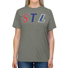 Load image into Gallery viewer, STL Triple Threat - Unisex Triblend Tee