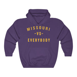 MISSOURI VS EVERYBODY -  Unisex Heavy Blend™ Hooded Sweatshirt