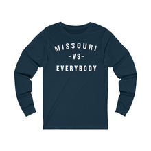 Load image into Gallery viewer, MISSOURI VS EVERYBODY - Unisex Jersey Long Sleeve Tee
