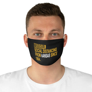 Missouri Social Distancing - Fabric Face Mask